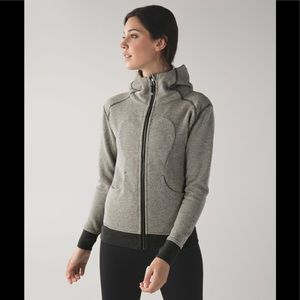 Lululemon On The Daily Hoodie Black /Dark Grey